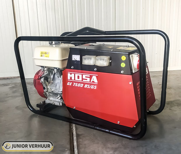 Professionele MOSA GE 750 B5 G5 aggregaat Junior Verhuur thumbnail
